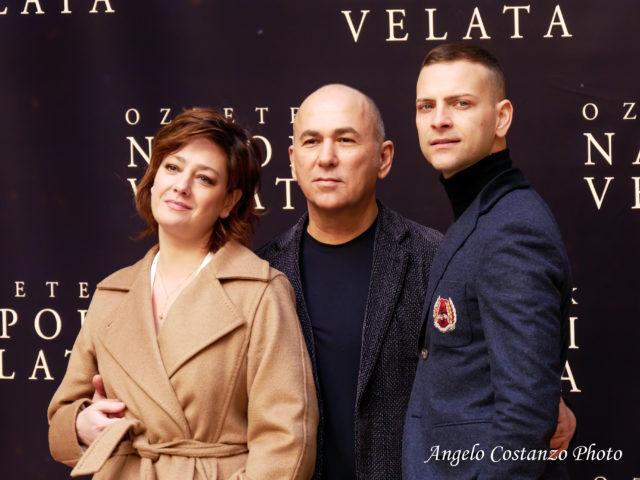 """Photocall """"Napoli Velata"""", di Ferzan Ozpetek con Giovanna Mezzogiorno e Alessandro Borghi"""